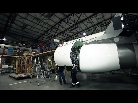The making of the A320 MSN 5000