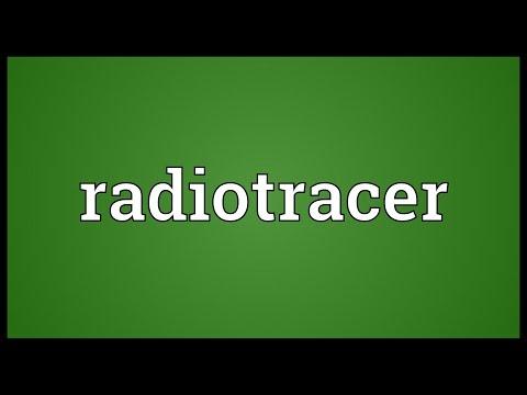 Header of radiotracer