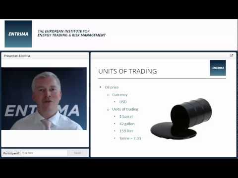 Entrima - Knowledge sharing: Units of Trading (Energy Tradig & Risk Management)