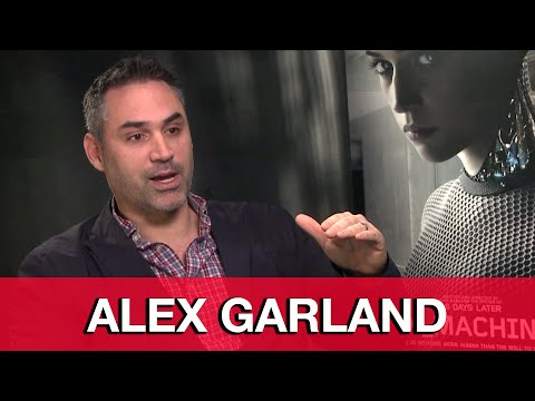 Ex Machina Director Alex Garland Interview