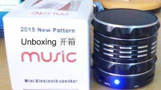 Monar Bluetooth Speaker(Black) Unboxing