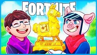 WE ARE FORTNITE TOURNAMENT CHAMPIONS! (Fortnite 2v2 Tournament Highlights)