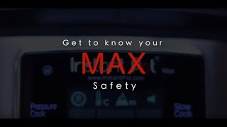 Instant Pot Max Safety