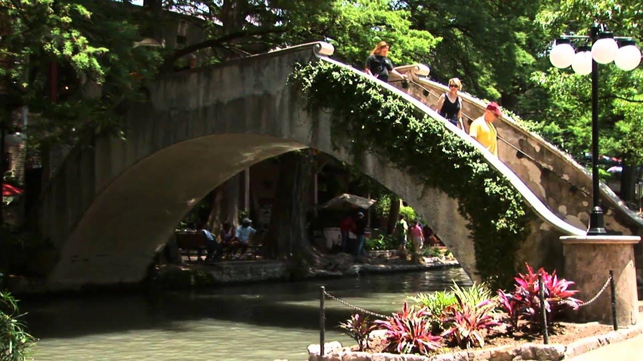 The San Antonio River Walk San Antonio Texas Paseo Del