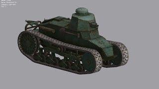 World of Tanks Renault NC-31 (Китай) (PC) Танк 1 уровня