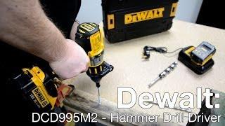 Dewalt DCD995M2 Combi Drill Demo - ITS TV