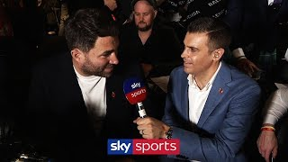 "Eddie Hearn's assessment of ""thrilling"" KSI vs Logan Paul 2 fight 👊"