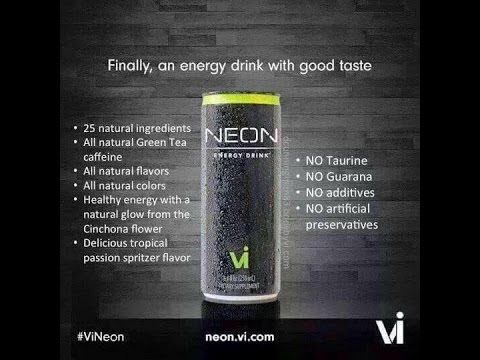 Neon Energy Drink Review