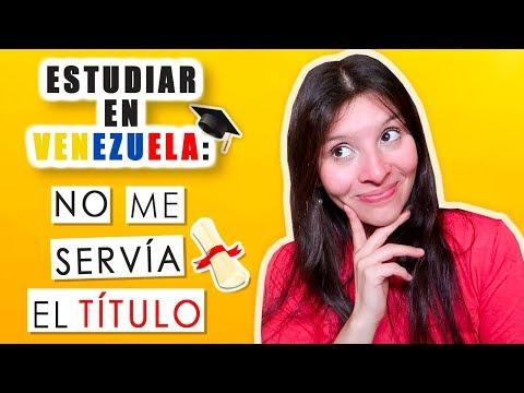 MI EXPERIENCIA EN LA UNIVERSIDAD: ¿QUE ESTUDIÉ? (ESTUDIAR EN VENEZUELA)