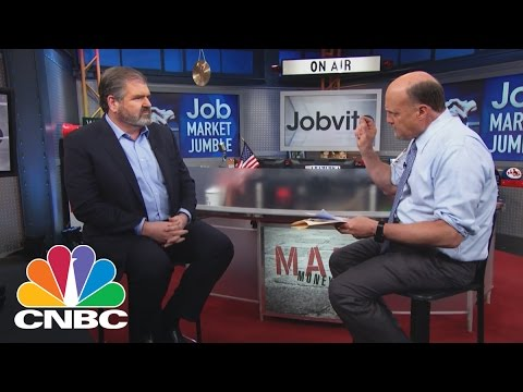 Jobvite CEO: The Employment Pulse | Mad Money | CNBC