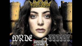 LORDE - ROYALS [[KROWD-KILLAS]] REMIX (DANCE REMIX)