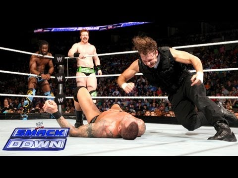 Sheamus, Randy Orton & Kofi Kingston vs. The Shield: SmackDown, May 24, 2013