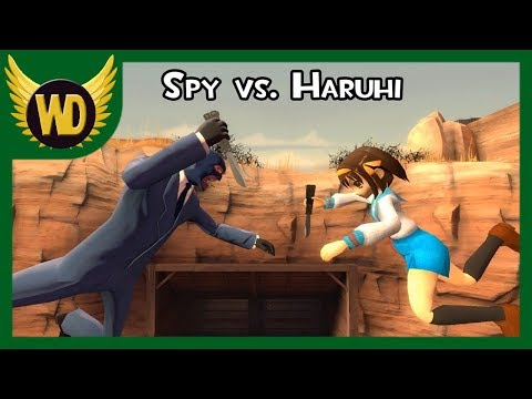 Haruhi Attacks The Spy! (SCOUT IS LOLICON) Video