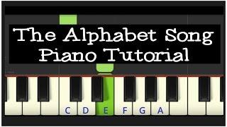 Easy Piano Tutorial: The Alphabet Song