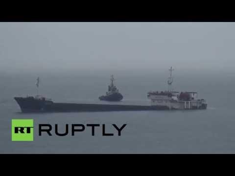 Bulgaria: Russian cargo ship sinks in Black Sea