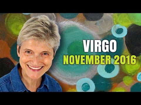 Virgo November 2016 | New relationships, exciting new beginnings!