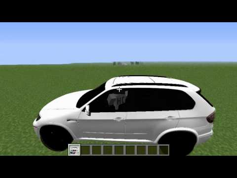 Minecraft Mods: Crazy BMW Car Mod Review (Mod Showcase & Download)
