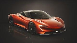 2019 McLaren Speedtail Astral
