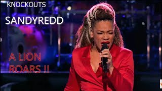 SandyRedd The Voice 2018 Knockouts | A Lion ROARS! | AFTW KING Reaction