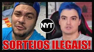 O Felipe Neto e o Luccas Neto NUNCA fizeram sorteios ILEGAIS!? - MATÉRIA INVESTIGATIVA