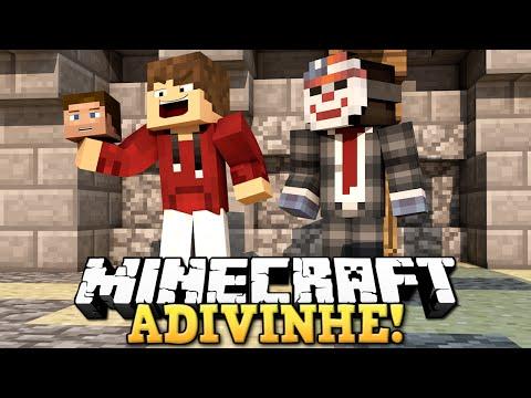 Minecraft - JOGO DO ADIVINHA!