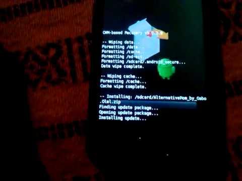 Instalar ROM Alternative Basada en Cyanogenmod 7.2 RC4 Samsung Galaxy Ace S5830M/i/C