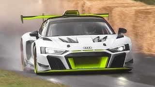2020 Audi R8 LMS GT2 Unveiled! - Sound, Accelerations & Downshifts