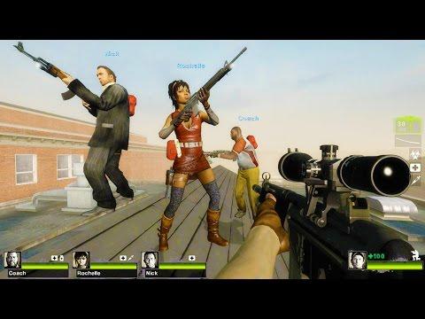 Left 4 Dead 2 - Dead High School Custom Campaign Gameplay Walkthrough