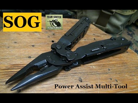 SOG Power Assist Multi-Tool