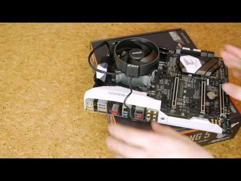 AMD Ryzen 1700 first build