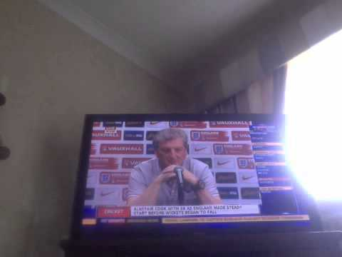 Roy Hodgson and Frank Lampard talk about the world cup in Brazil