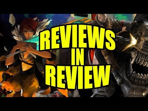 Reviews In Review: Wolfenstein The New Order. Transistor. Drakengard 3. Kero Blaster