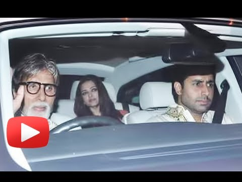 Bollywood Stars At Shahrukh Khan's Eid Party…