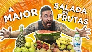 A maior salada de frutas do Brasil!! 5kg BRUTAL
