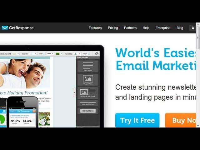 Hướng dẫn thực hành Email Marketing chuyên nghiệp Getresponse 2.0- Phần 1