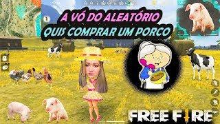#TROLLAGEM VENDENDO ANIMAIS DA FAZENDO NO ALEATÓRIO  #FREEFIRE #TROLL