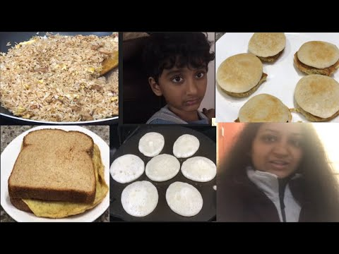 #DIML#vlog Wednesday morning routine #Telugu vlog in USA #kids lunchbox recipe#chicken fried rice