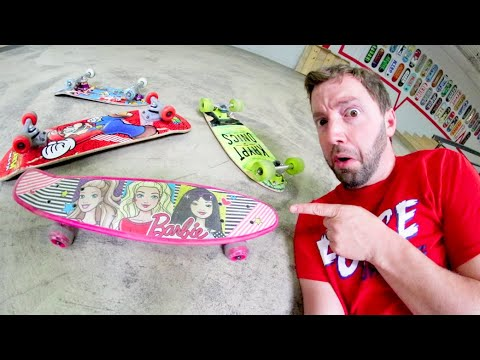You Must SkateE The Worts Boards! / Warehouse Wednesday
