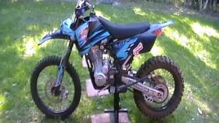 250 pitbike with bling