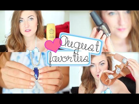 August 2014 Favorites ❤ Fashion, Beauty, Music & More!
