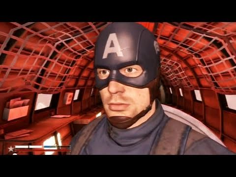 Classic Game Room - CAPTAIN AMERICA PS3 review