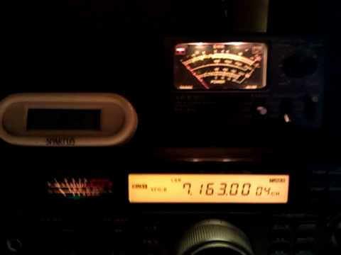 Japan ham radio operator JA1DOT heard 130am pst with WB2REM after massive 8.9 earthquake,