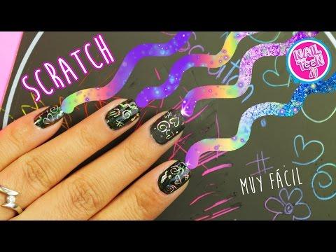 Scratch Nail Art