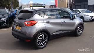 RENAULT CAPTUR DYNAMIQUE S NAV DCI GREY/BLACK 2015
