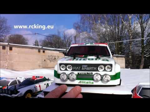 RC FIAT 131 Rally Alitalia, Rally Legends, Www.rcking.eu