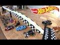 Hot Wheels Monster Jam Pista Caixa De Papelão   Carrinhos De Brinquedos #73