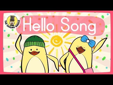 Resultado de imagen de Hello Song for Kids