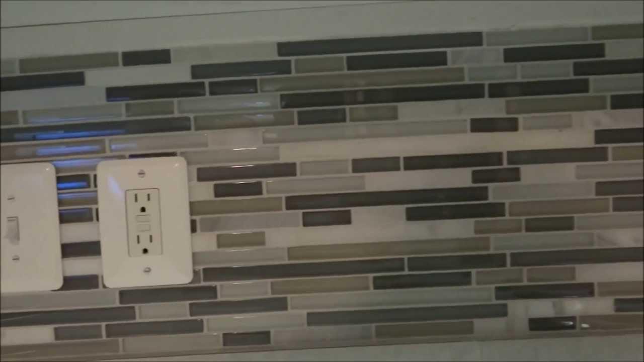 Detailed How To DIY Backsplash Tile Installation - YouTube