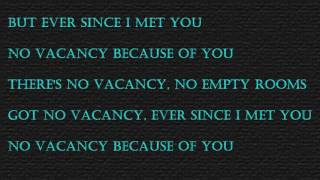 One Republic No Vacancy lyrics on Screen