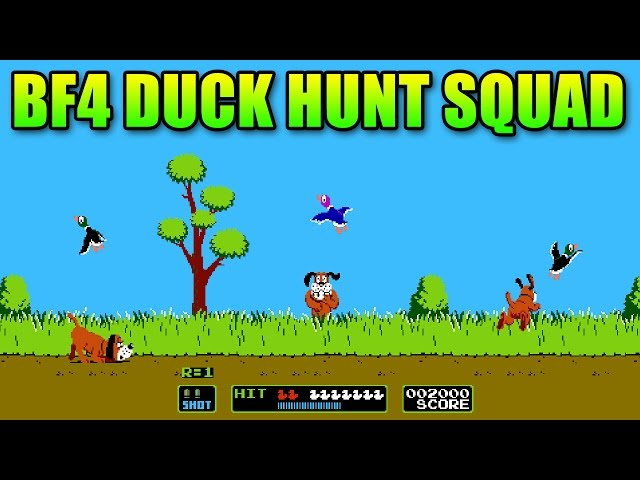 Duck Hunt Parachute Snipers - BF4 Squad Up | Battlefield 4 Final Stand Gameplay